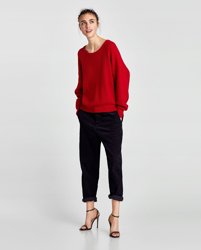 allegro koszula bordo z wiązaniem zara