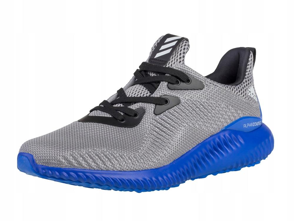 sportowe obuwie Alphabounce Adidas BB7093 szare