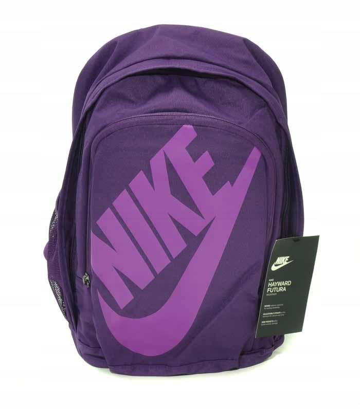 NIKE BA5217 543 fioletowy plecak szkolnysportowy