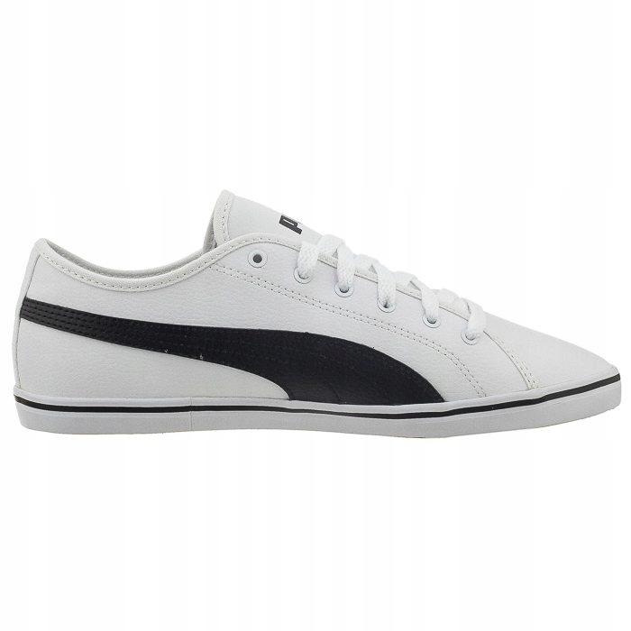 Buty Damskie Sportowe Puma Elsu v2 SL J Białe 36