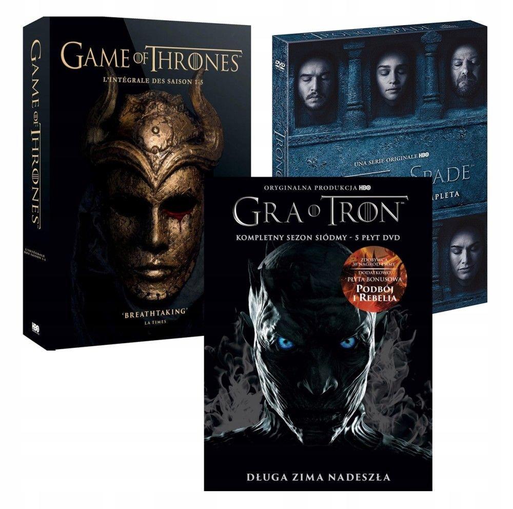 Gra O Tron 35 Dvd Sezony 1 7 Komplet Z Pl 7519976809