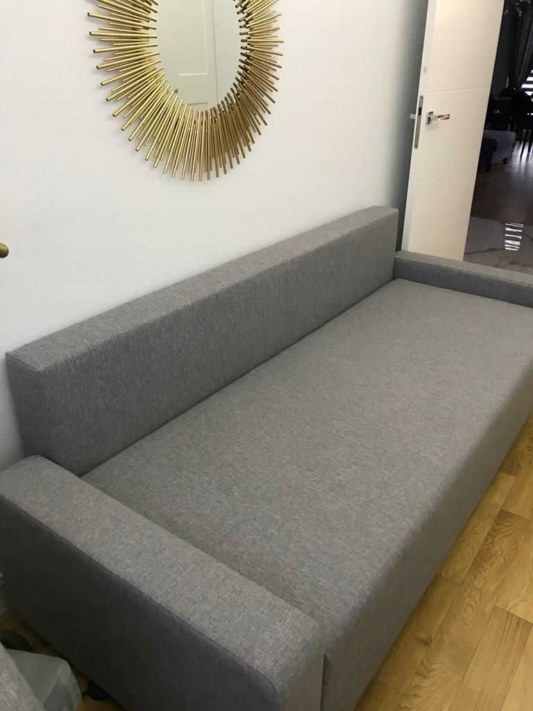 Rozkładana sofa 3-osobowa, szary IKEA GRALVIKEN ...