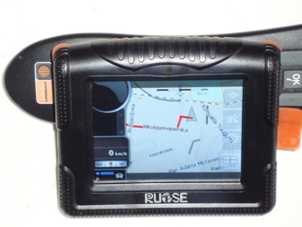 Nawigacja motocykl.wodoszczel.Bluetooth mapy Europ