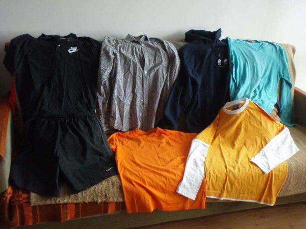 Ubrania firmowe młodzieżowe 7szt 164cm Nike bluza