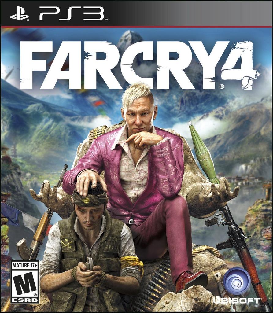 Far Cry 4 Ps3 Playstation 3 Polska Wersja 7225493167 Oficjalne Archiwum Allegro
