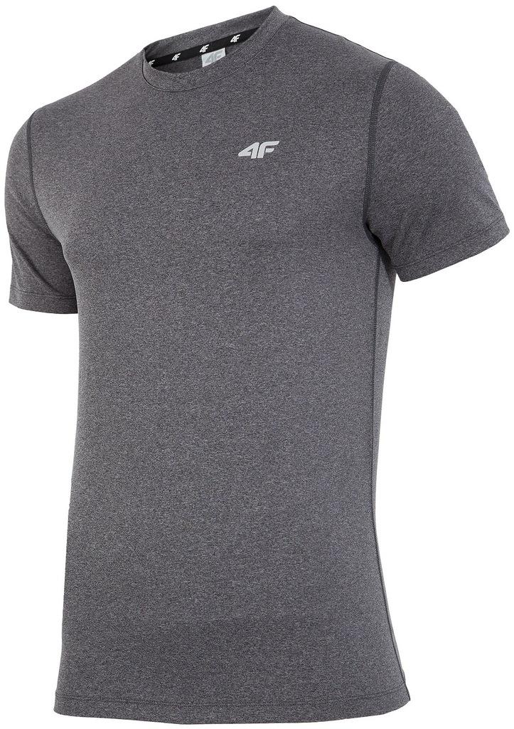 Koszulka 4F Męska H4L19 TSMF002 Granatowa R. L Ceny i