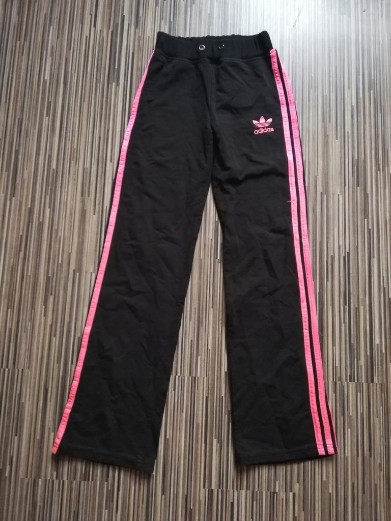 ADIDAS ORIGINALS spodnie dresowe bawełniane roz. S