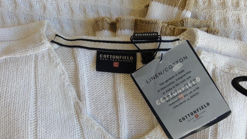 sweter męski COTTONFIELD,oryginał L/XL minus 50%