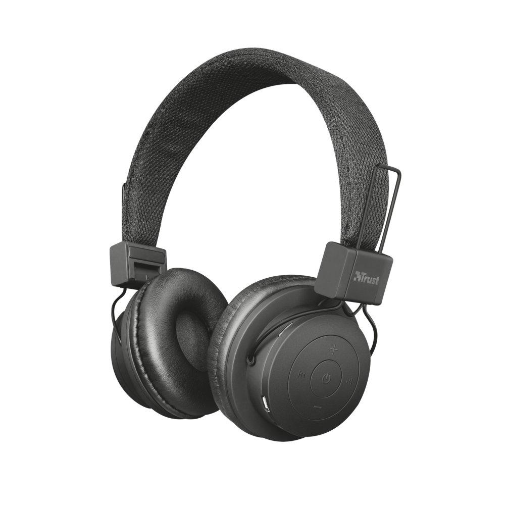 Trust bezprewodowe słuchawki bluetooth Leva