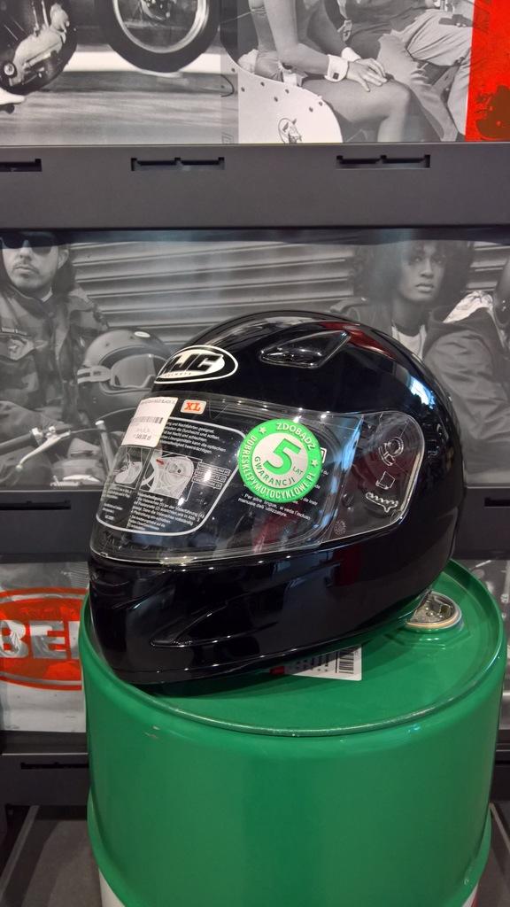 Kask motocyklowy HJC CS-14 Solid Black roz. XL