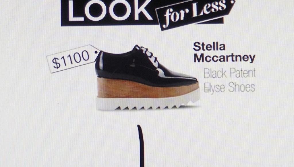Stella McCartney 35 Black Elyse Shoes