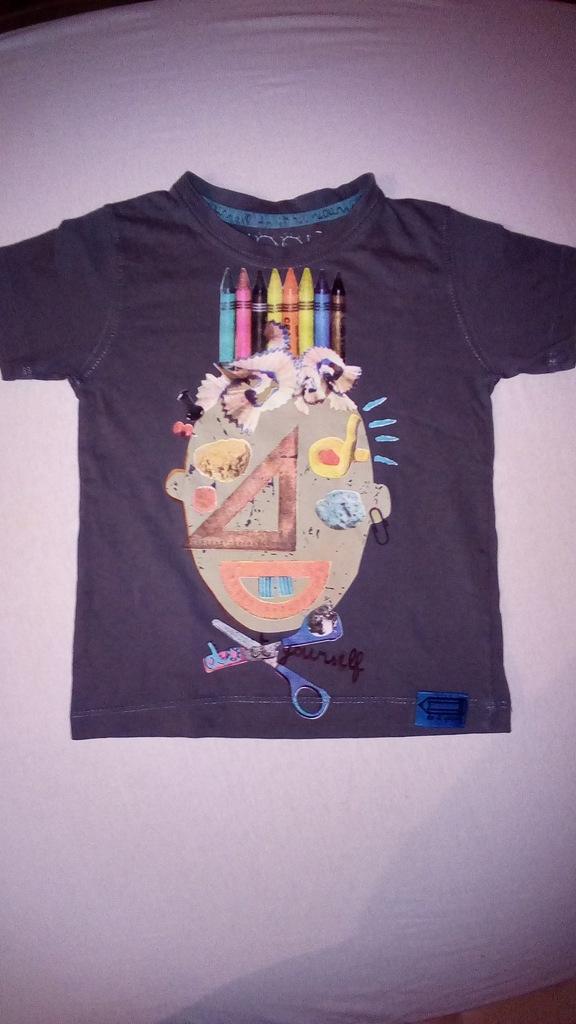 T-shirt dla chłopca lub dziewczynki r.98