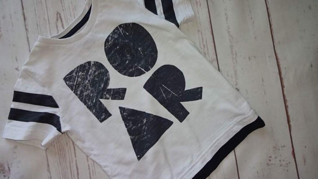 top koszulka TU roar 86 cm