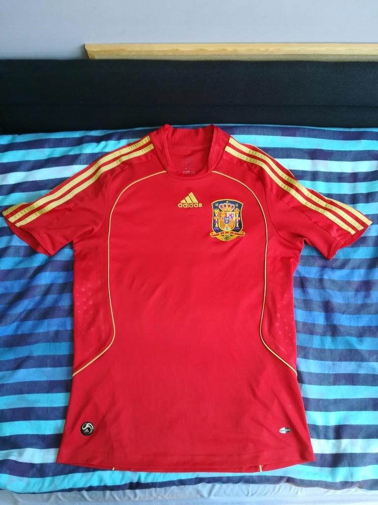 Koszulka Reprezentacji Hiszpanii 2008 M 7432644312 Oficjalne Archiwum Allegro