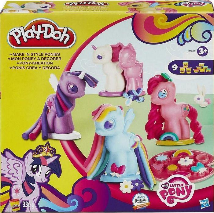 Play Doh My Little Pony Stylowe Kucyki B0009 7353072618 Oficjalne Archiwum Allegro