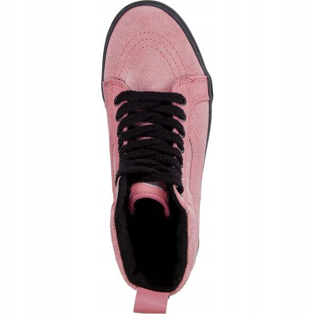 Różowe Zamszowe Buty Damskie Trampki Vans rozmiar 40