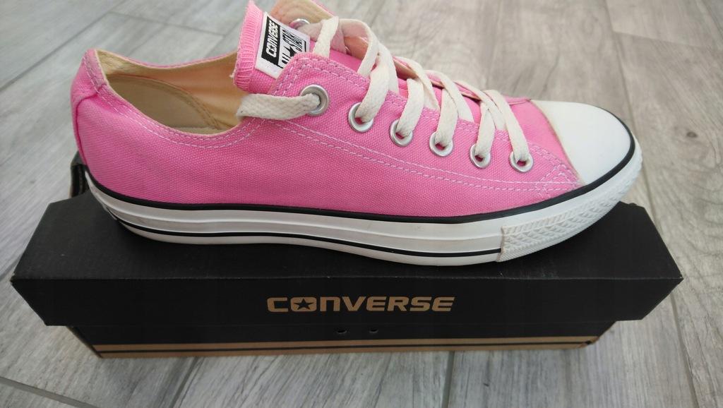 Różowe trampki Converse 39