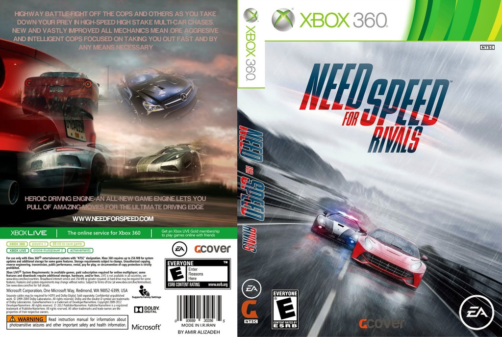 Gra Gry Gier Xbox 360 Need For Speed Nfs Rivals Pl 7296107882 Oficjalne Archiwum Allegro