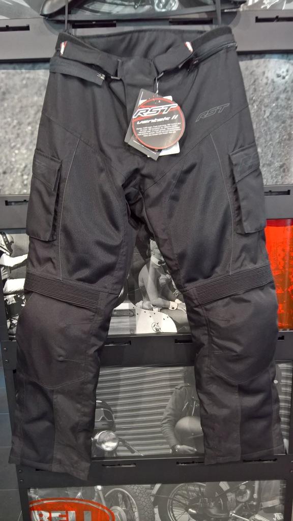 Spodnie tekstylne RST Ventek II Black roz. L