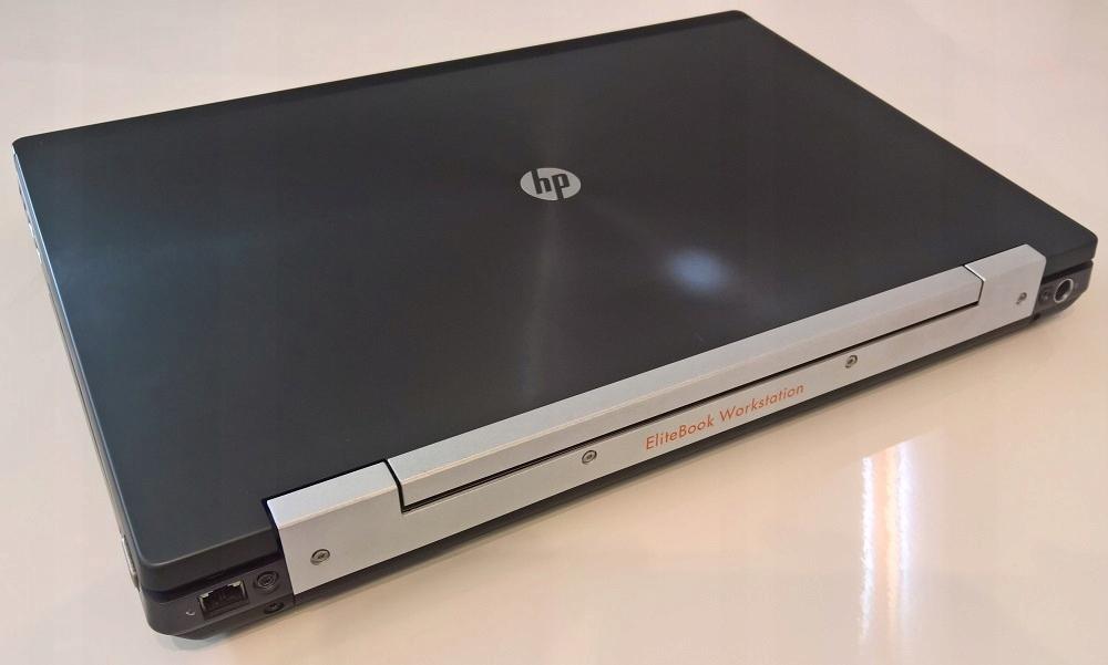HP 8570w i7-3740QM 16GB 240GB SSD K1000M FHD Win7P