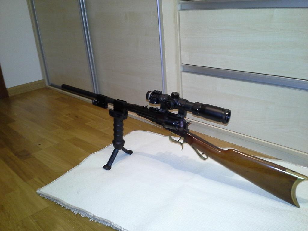 Remington Revolving Carbine Broń Czarnoprochowa