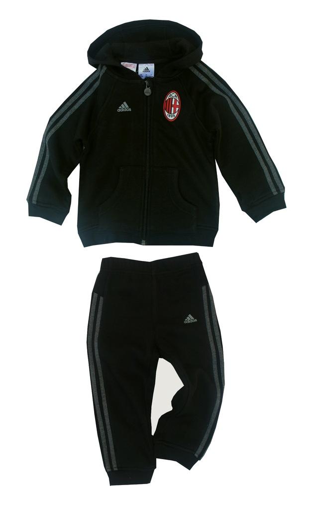 DRES ADIDAS AC MILAN bawelna spodnie i bluza r 98