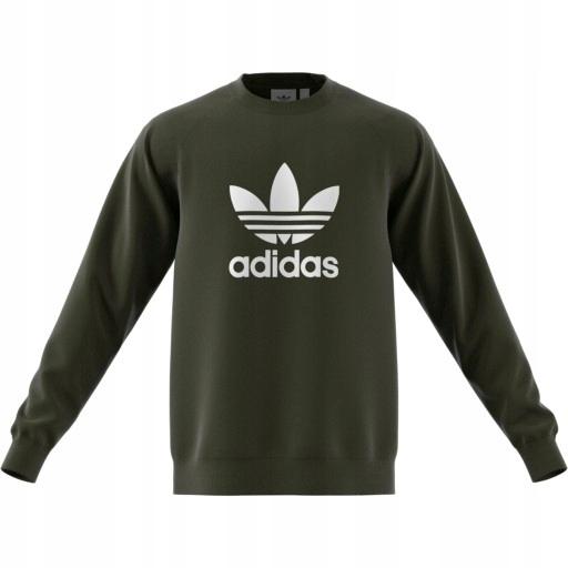 Bluzy adidas Bluza z zaokrąglonym dekoltem Trefoil Warm Up