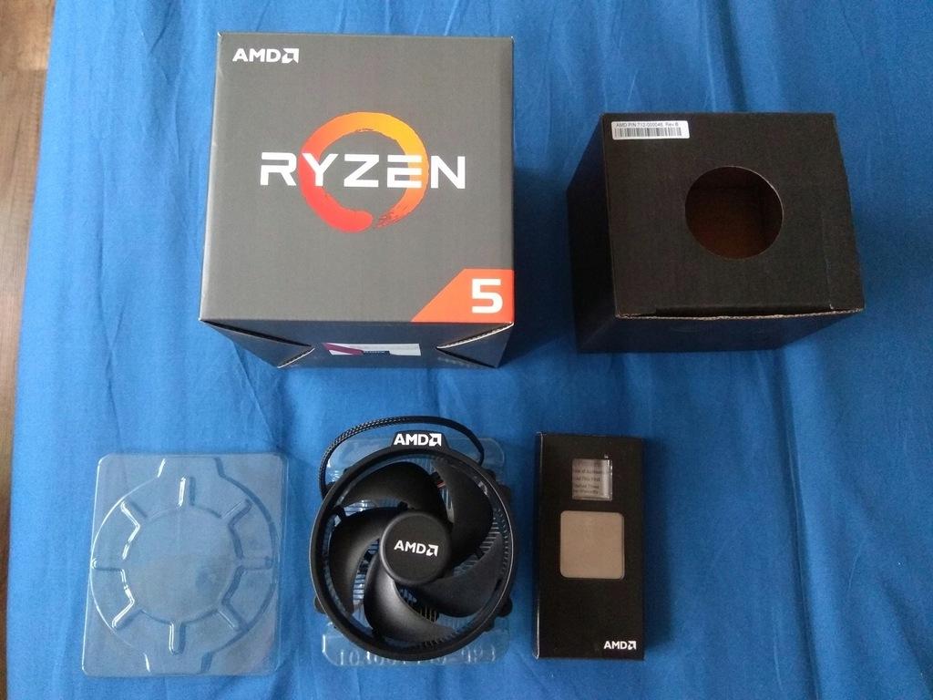 AMD Ryzen 5 1400 Jak Nowy! KOMPLET! BOX