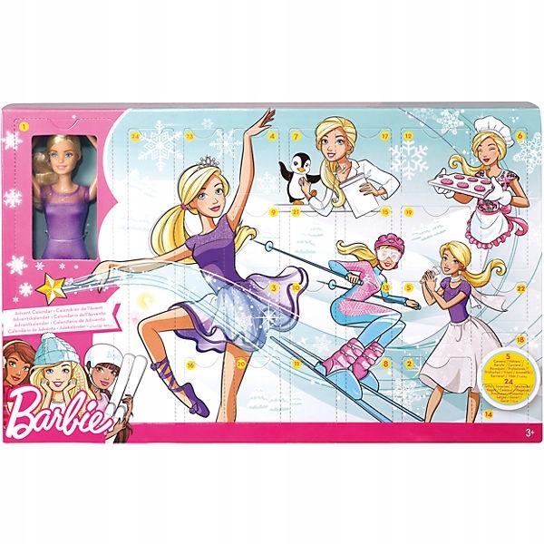 Nowy Kalendarz Adwentowy Barbie 2018 7704381159 Oficjalne Archiwum Allegro