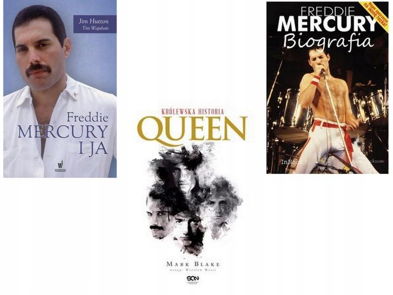 Freddie Mercury I Ja Jim Hutton Biografia Queen 7753496254 Oficjalne Archiwum Allegro