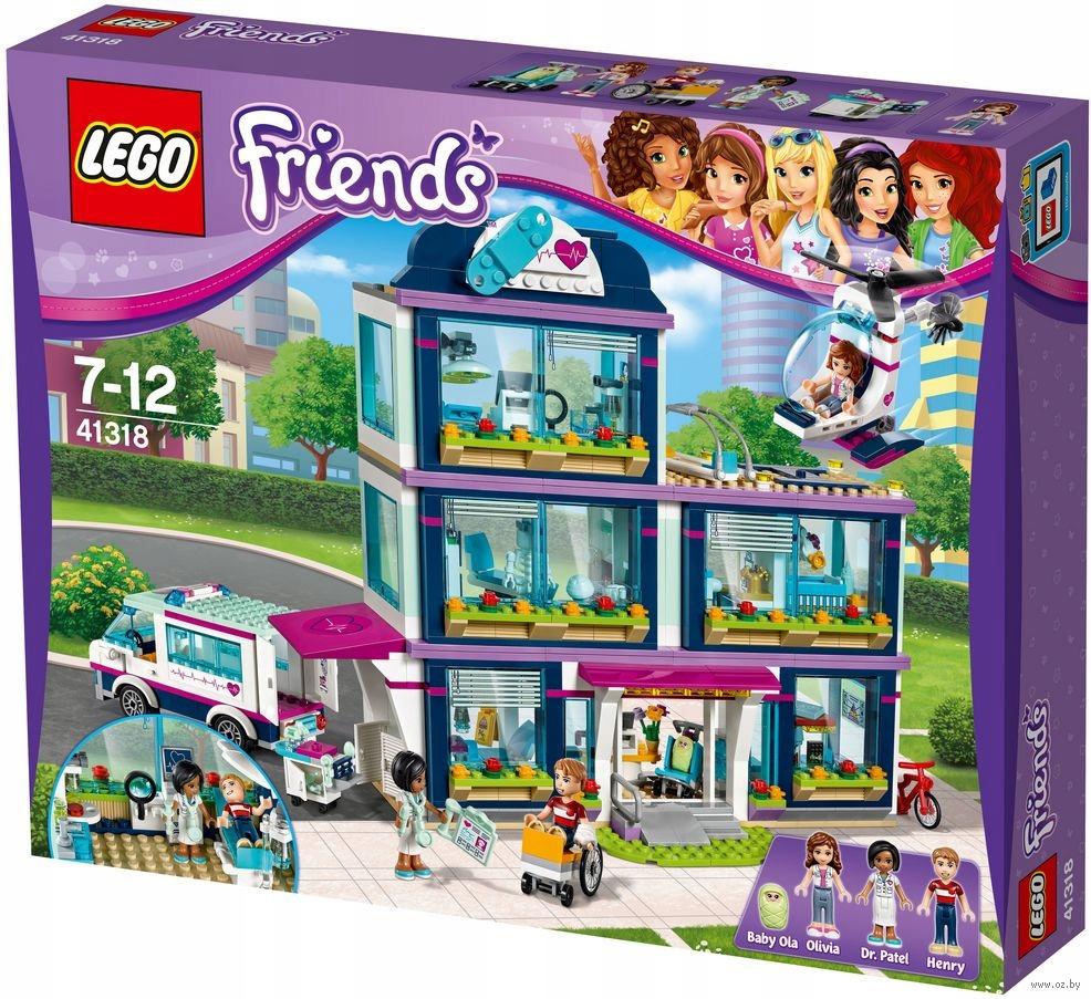 LEGO Friends Klocki Szpital w Heartlake 41318 NOWY