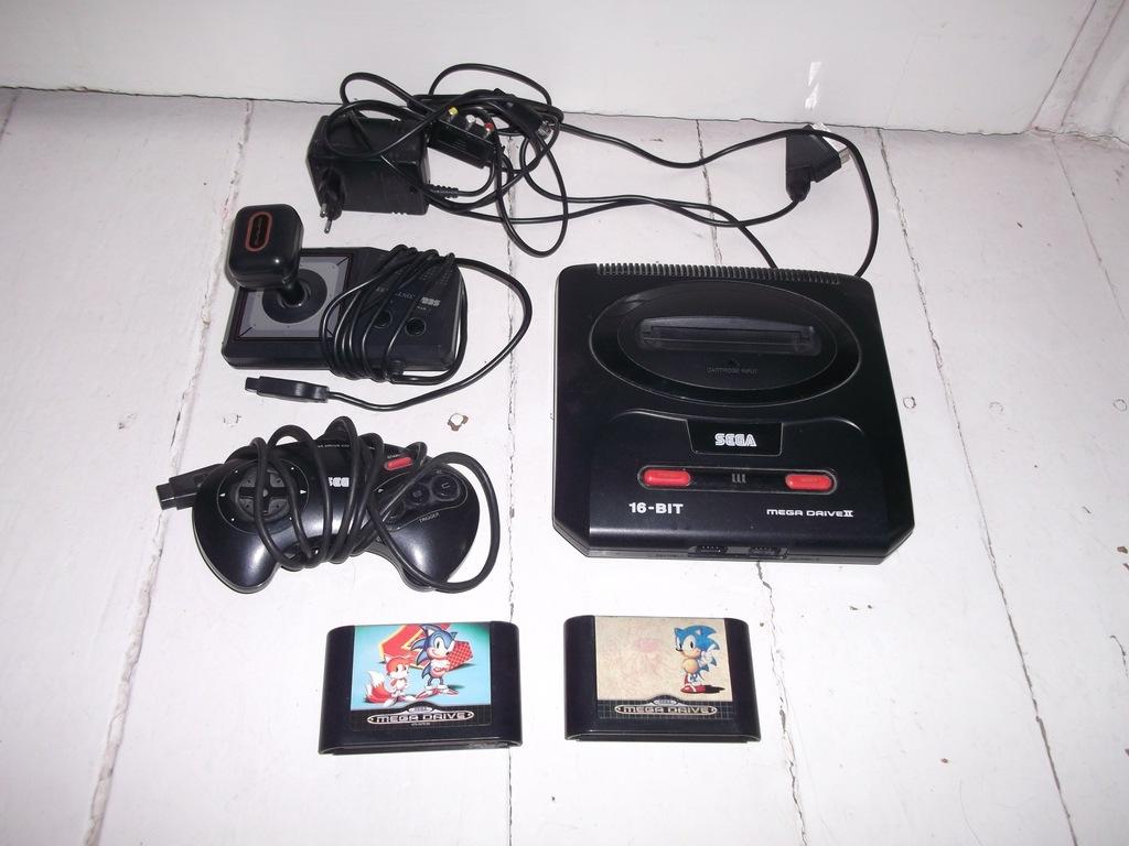 Sega Mega Drive + gry
