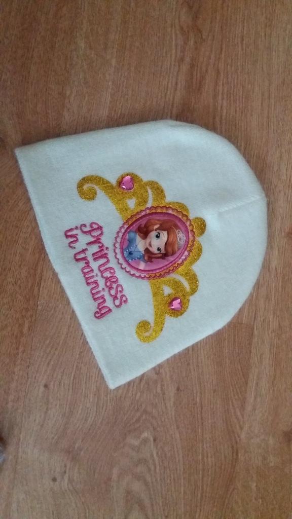 C&A czapka księżniczka Zosia 116/122
