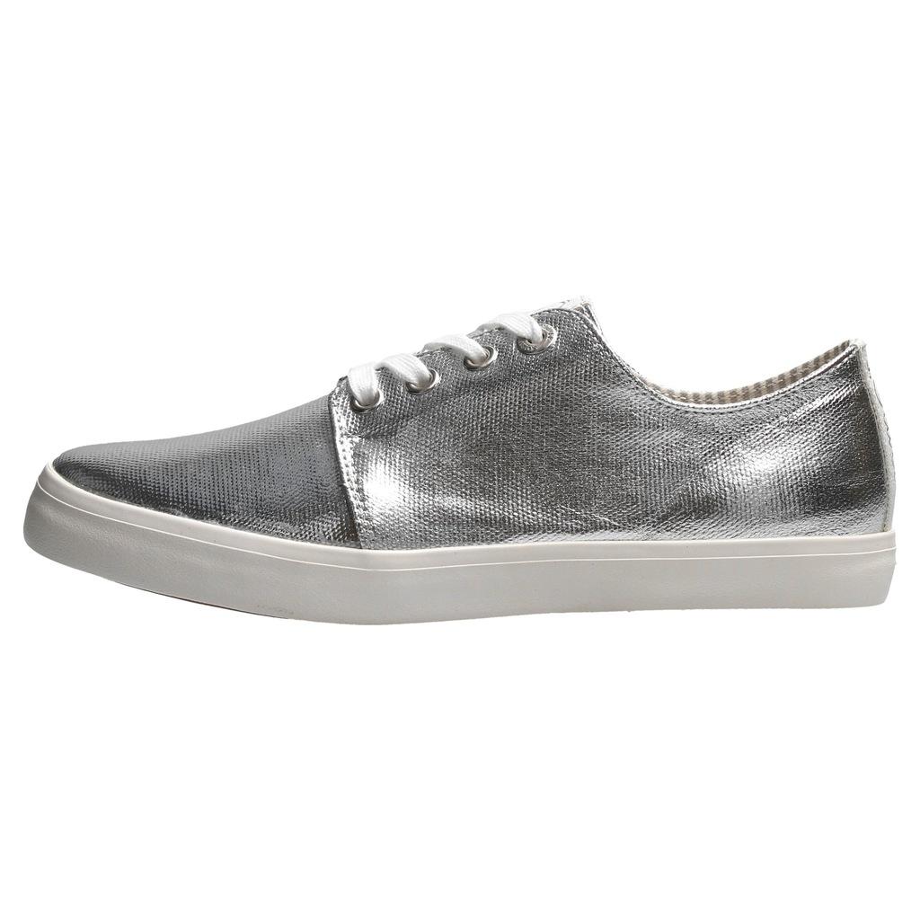 buty trampki zamszowe 40 s.oliver czarne szara podeszwa