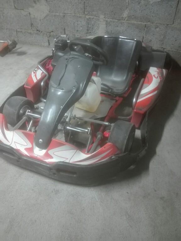 Gokart SODI GT2 200, silnik Honda 6.5 km,