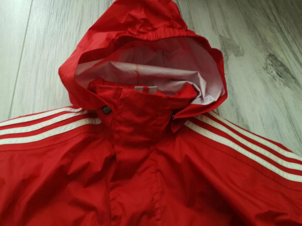 ADIDAS kurtka przeciwdeszczowa 140cm 10l+