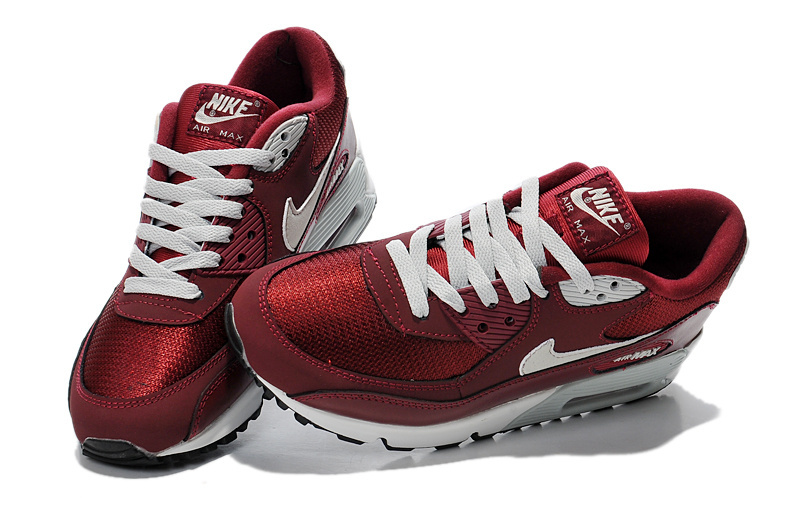 BUTY NIKE AIR MAX 90 ESSENTIAL BORDO r.40 45
