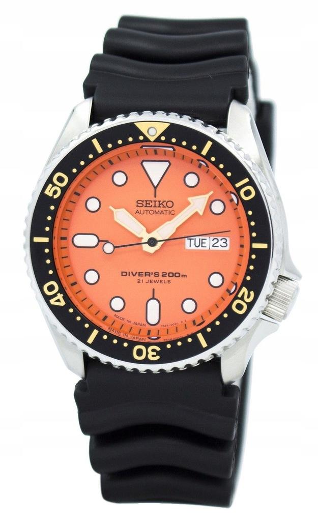 Męski zegarek SEIKO SKX011J1