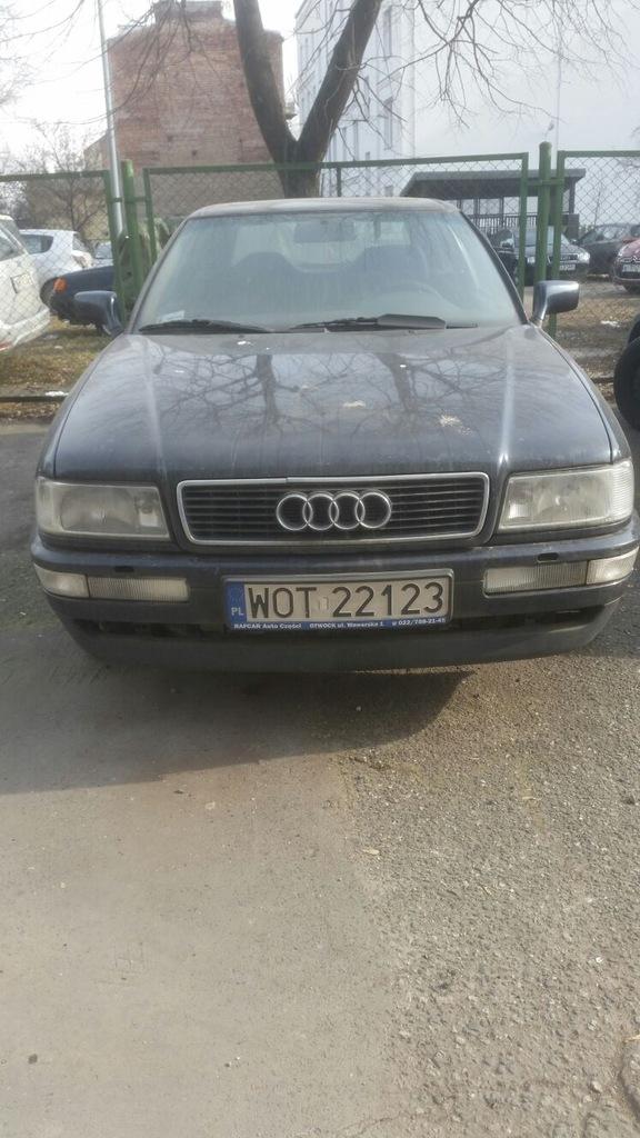 Audi 80 B4 Coupe 2 8 V6 W Calosci Na Czesci 7231155665 Oficjalne Archiwum Allegro