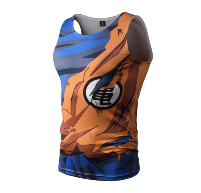 Tank Dragon Ball Termoaktywna Rashguard Goku Xxl 6985319984 Oficjalne Archiwum Allegro