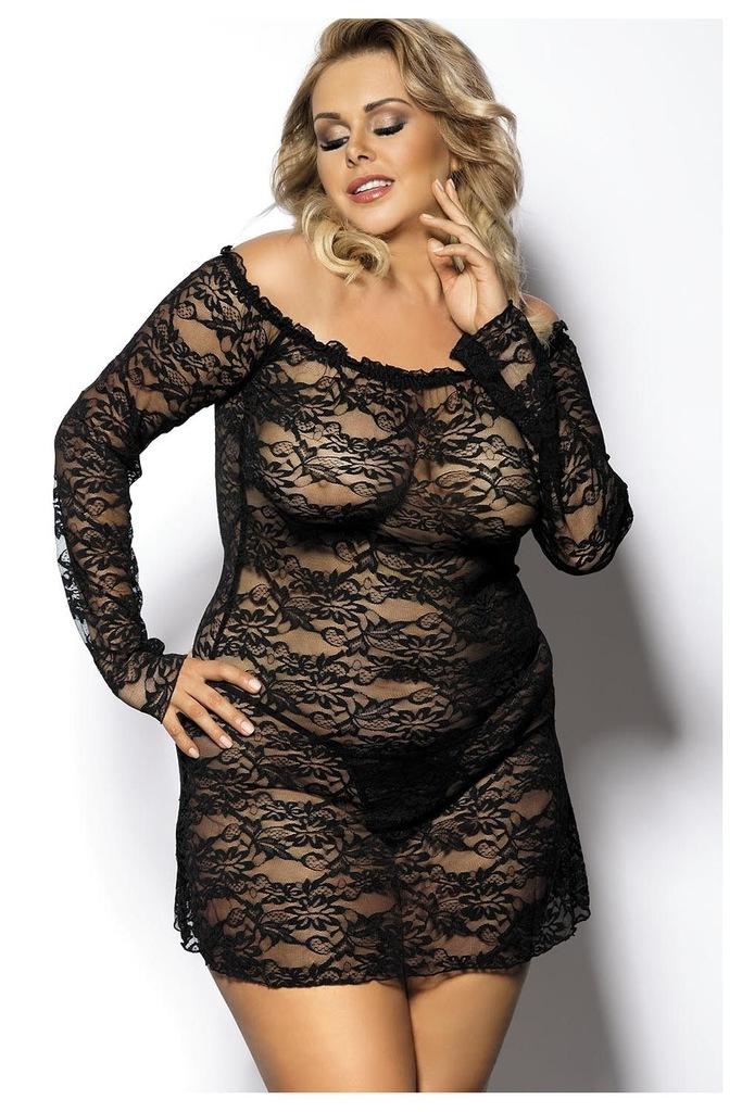 Anais Orangina 5XL/6XL zmysłowa sukienka + stringi
