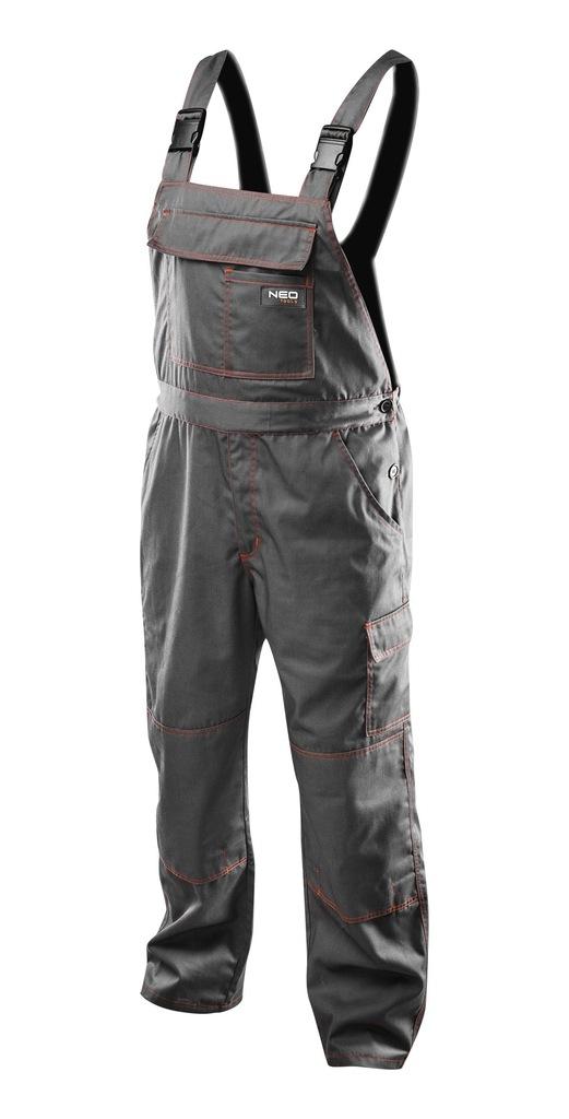 NEO Spodnie robocze na szelkach, 81 430 P