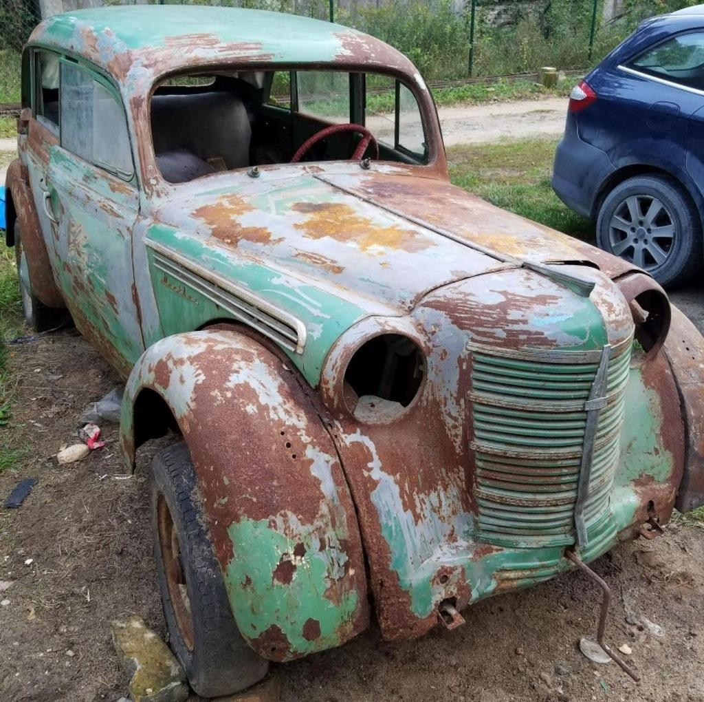 Moskwicz 400 1951r do remontu