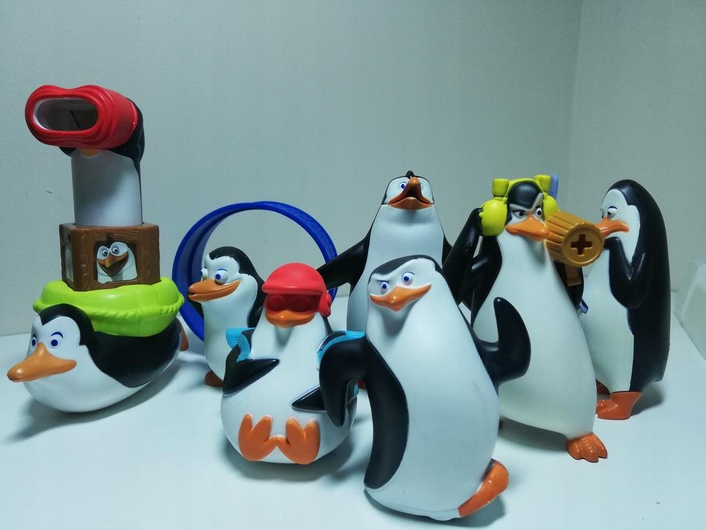 Pingwiny Z Madagaskaru Zabawki Z Mc Donald 7705240321 Oficjalne Archiwum Allegro