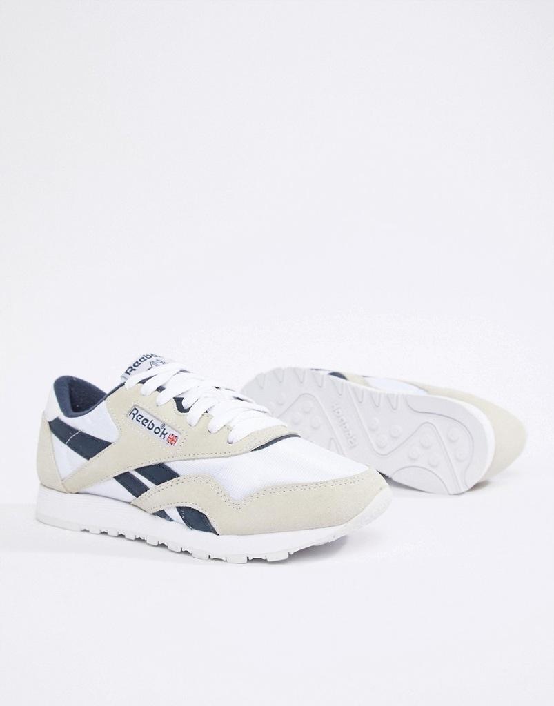 Nowe Oryginalne buty reebok classic białe skorzane 39 25cm