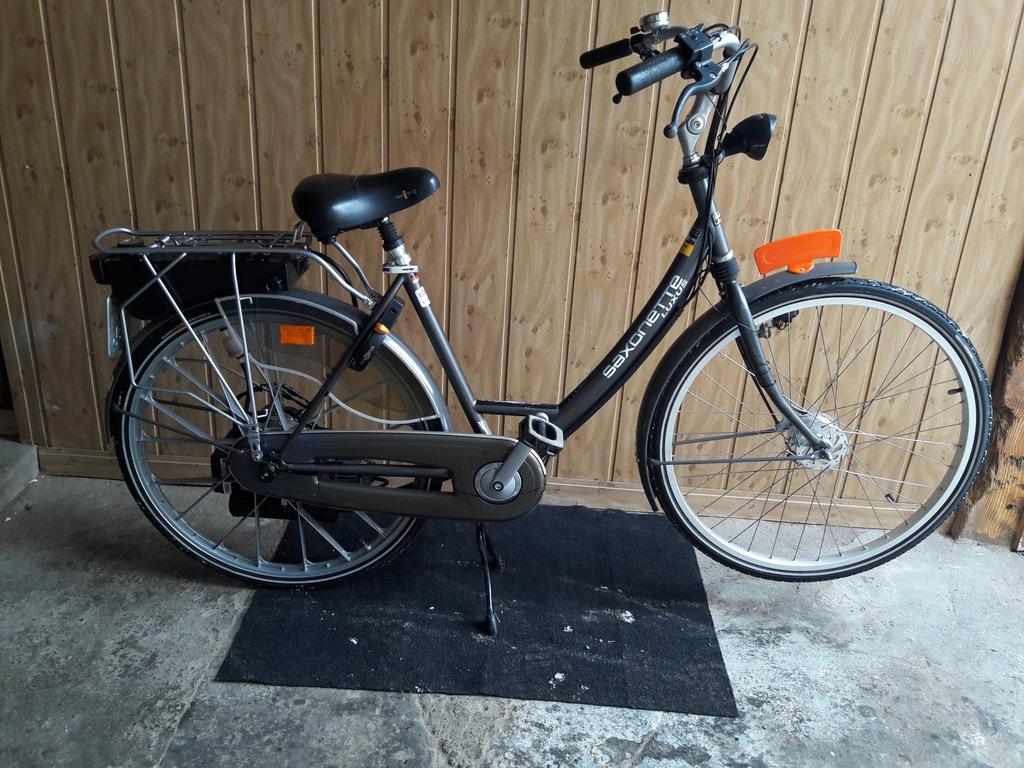 Saxonette Luxus, Spartamet rower z silnikiem SACHS