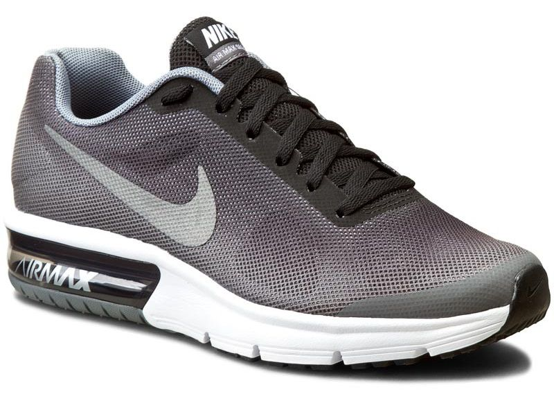 Buty NIKE Air Max Sequent Gs 724984 002 Wolf GreyRflct SlvrHypr Pnk