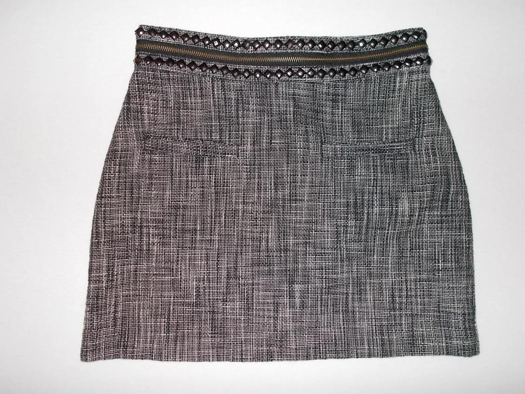 Spódnica H&M ciepła kieszonki pas 2x35cm (36)