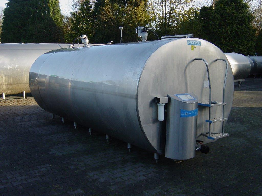 Zbiornik Do Mleka Schladzalnik Packo 12000l 5123830187 Oficjalne Archiwum Allegro
