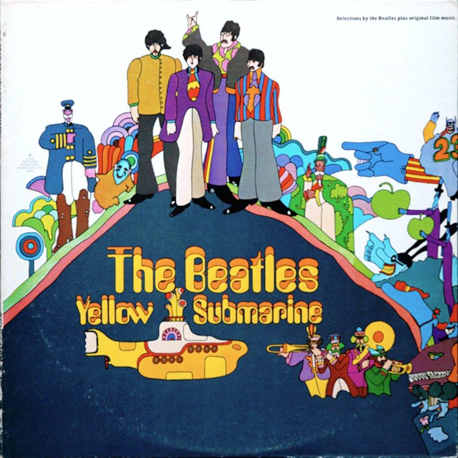 The Beatles Yellow Submarine Vinyl Lp 7083487380 Oficjalne Archiwum Allegro